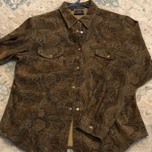 Paisley vintage western shirt